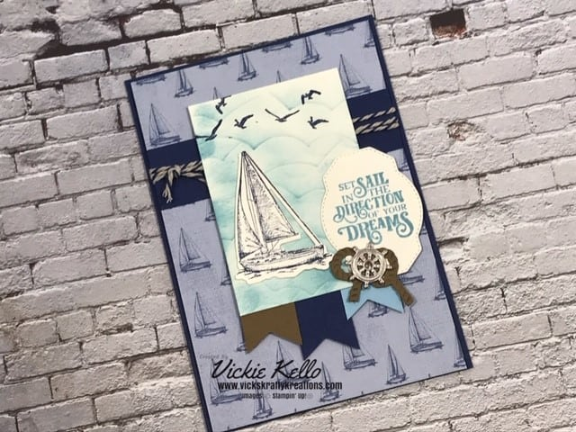 Sail Away Card 1